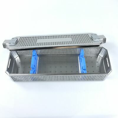Endoscope Sterilization Metal Tray Box Case Surgical Instrument Disinfect Plate