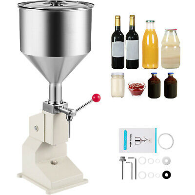 Liquid Filling Machine 5-50ml Manual Cosmetic Filler Cream Paste Water Filler