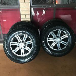 PRICE DROP!! 4x4 wheel and tyre combo Mudgeeraba Gold Coast South Preview