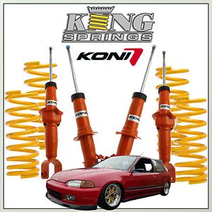 Lowering Kit for Honda Civic (EG/EH)  -50mm KONI STR.T & KINGS Arndell Park Blacktown Area Preview