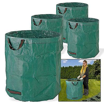 4 x Gartensack Laubsack Gartenabfallsäcke  Gartenabfallbehälter  4 x 272 l  XXL