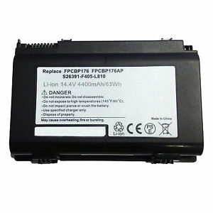 8-cell Battery for FUJITSU LifeBook A1220 A530 A6210 A6220 A6230 AH530 AH550
