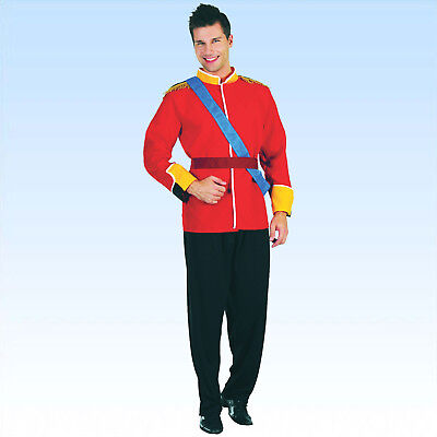 Kostüm Prinz Gr. 50-54 Adliger Monarch junger König Faschingskostüm Karneval