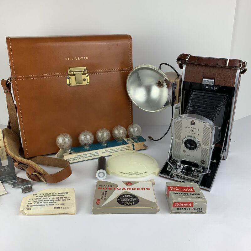 Polaroid Land Camera Model 95B Vintage 1950s Great Shape!