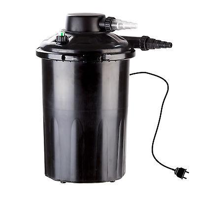 918904 Teichfilter UVC Druckfilter Gartenteichfilter Wasserfilter 12000 l/h Neu
