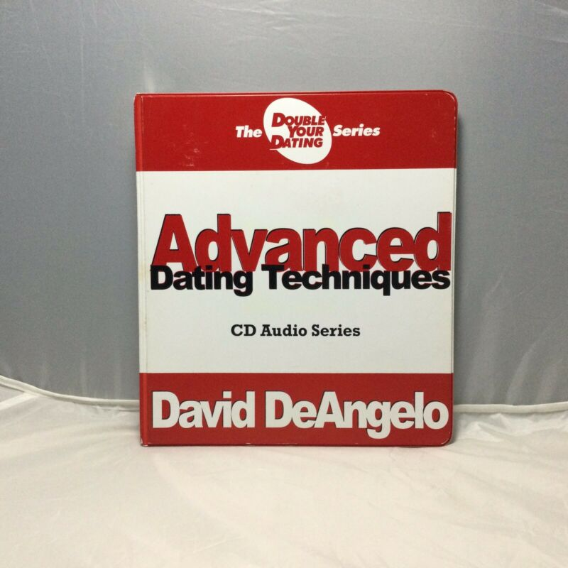 David DeAngelo Advanced Dating Techniques 11 Audio CD Set and Workbook Self Help