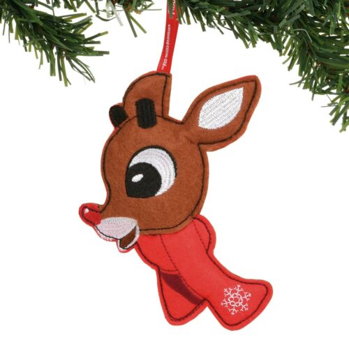Rudolph Felt Ornament Dept 56 Rudolph The Red Nosed Reindeer Christmas New