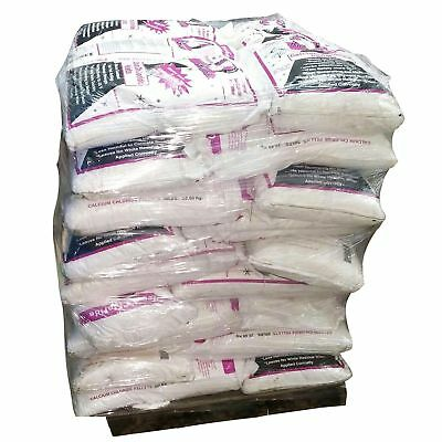 50lb Bag Of Bare Ground Calcium Chloride Pallet 50