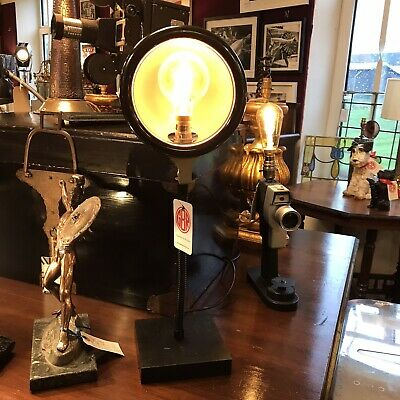 Antique Ray O Therm Heat Lamp Repurposed As Steampunk Feature Lamp