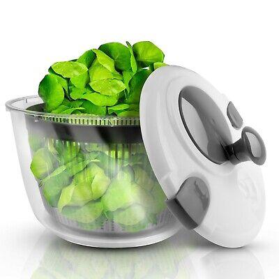Lacari ® Salatschleuder mit großem Fassungsvermögen GRATIS EBook