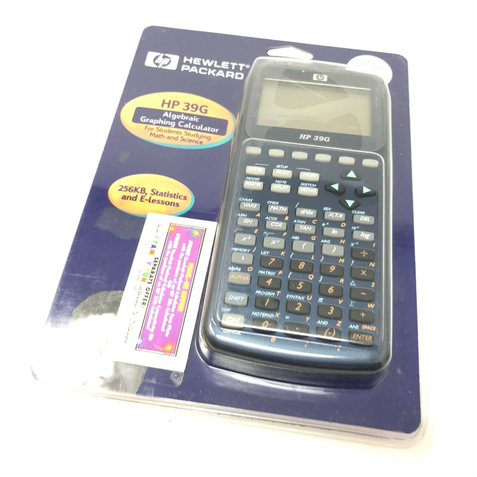 HP HP39G Algebraic Graphing Calculator