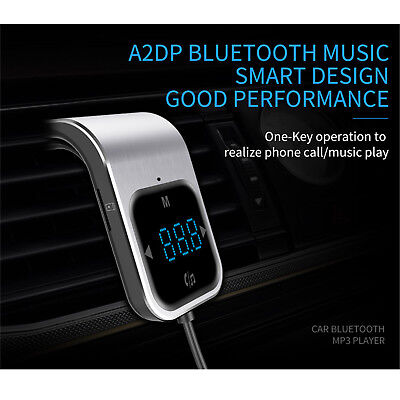 Bluetooth Car Kit FM Transmitter Wireless Radio Adapter USB Charger MP3 Player Car Kit Mp3-player