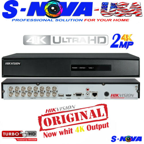 Hikvision DVR Turbo DVR HD TVI 4/8/16 Channel 1080P TVI/AHD/CVBS/IP ORIGINAL