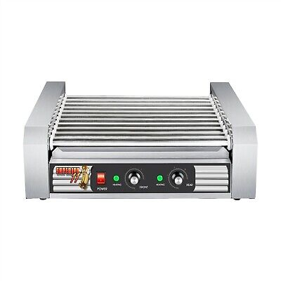 Stainless Steel Electric Commercial 30 Hot Dog 11 Roller Grilling Machine