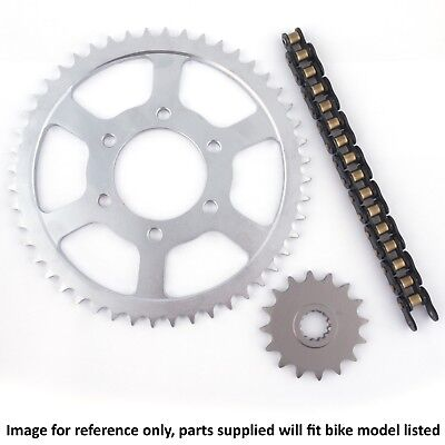 <em>YAMAHA</em> XS500 D ALLOY WHEEL 1980 ULTRA HEAVY DUTY CHAIN AND SPROCKET KI