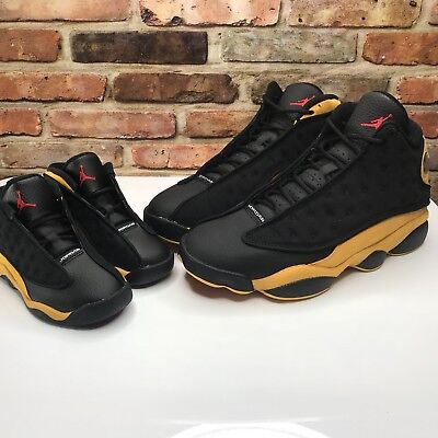 fcbe57d786bad8 Nike Air Jordan 13 Retro Mens Size 10.5 and size 7c toddler 414571-035