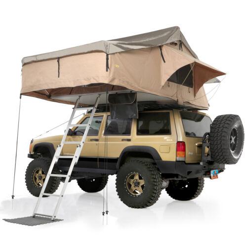 Smittybilt 2883 (IN STOCK) Overlander XL Roof Top Tent w/ Ladder & Mattress