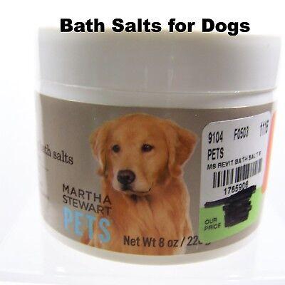 Dog Martha Stewart Bath Salts Eucalyptus Flea Tick Compatible Hypoallergenic NEW