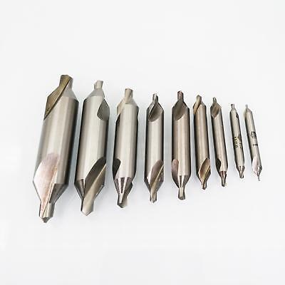 Us Stock 9x Center Drill Set Hss Bit 1mm 1.5mm 2mm 2.5mm 3mm 3.15mm 4mm 5mm 6mm