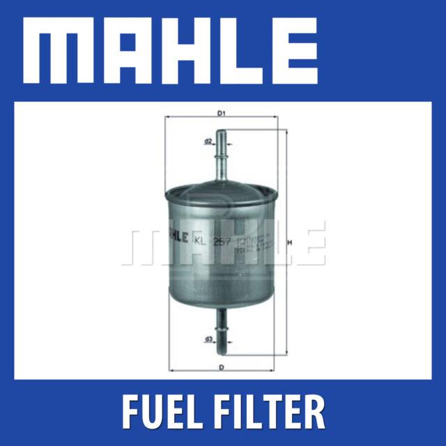 Mahle Fuel Filter KL257 - Fits Volvo S60,V70, S80 - Genuine Part