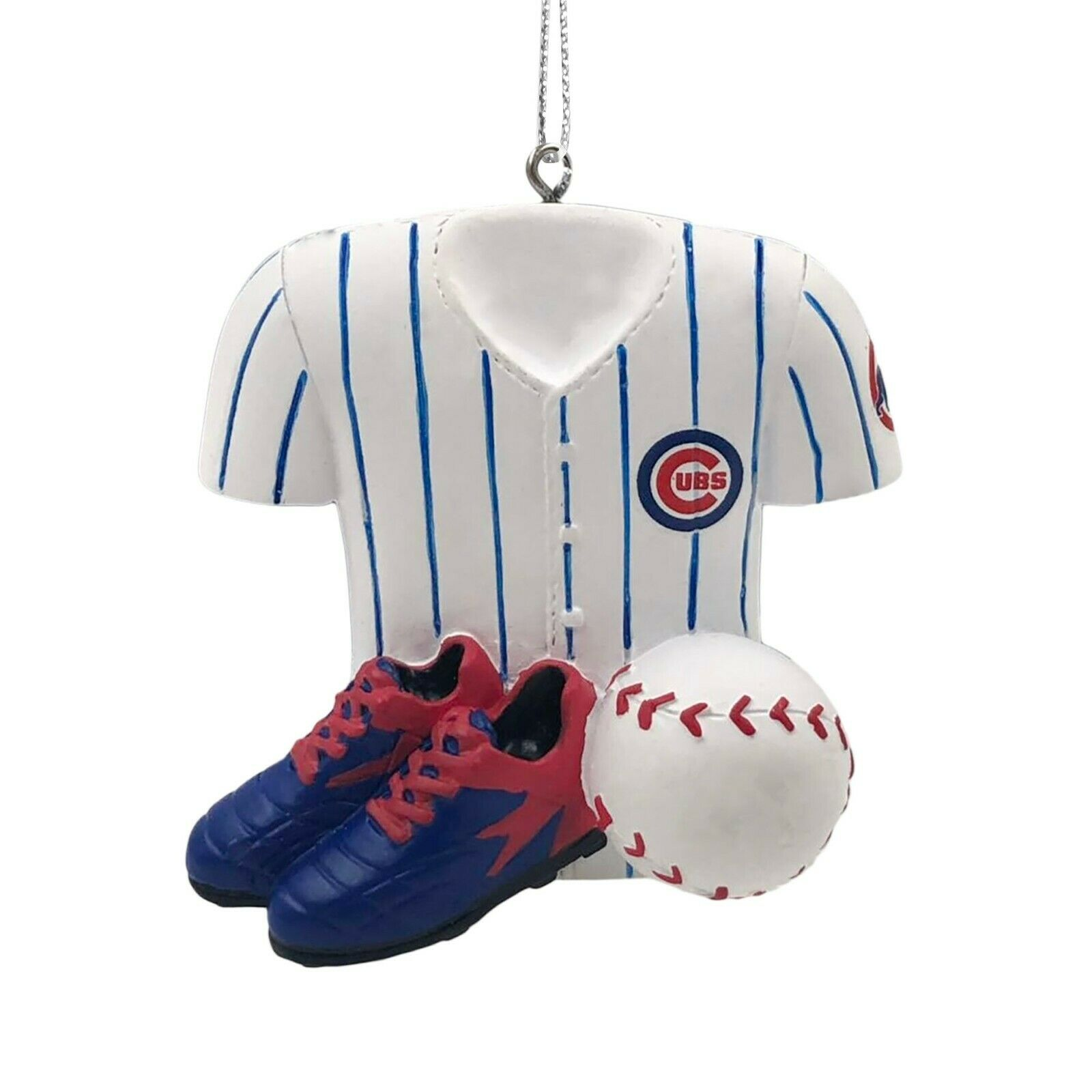 Chicago Cubs Christmas Tree Holiday Ornament New - Jersey Ba