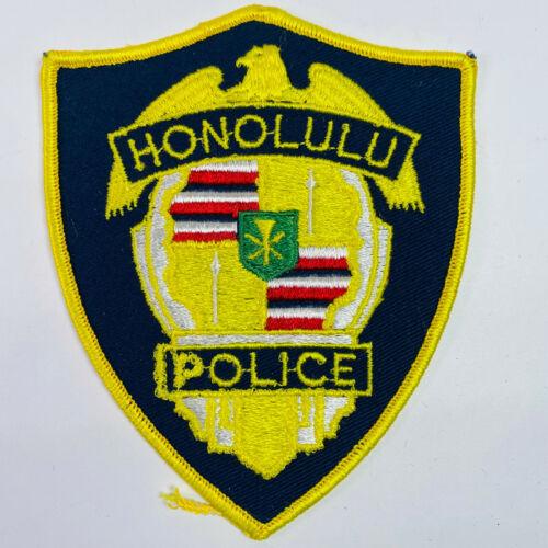 Honolulu Police Hawaii HI Patch A1B