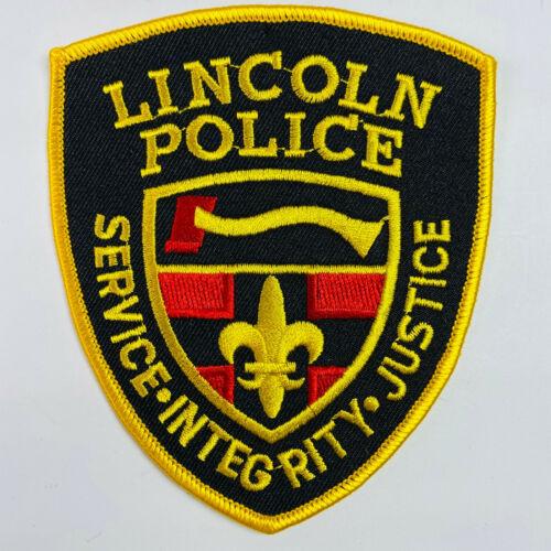 Lincoln Police Rhode Island RI Patch (A4)