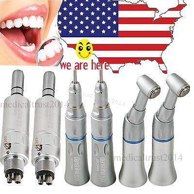 2set Denshine Autoclave Slow Low Speed Dental Handpiece 4 Hole For Nsk E-type