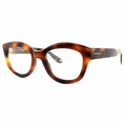 Givenchy GV 0049 086 Dark Havana Full Rim Square Women Optical Frames (Givenchy Optical Glasses)