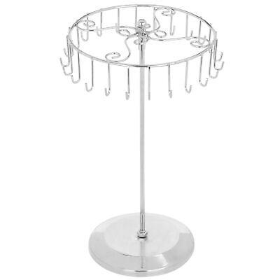 Silver Rotating Necklace Holder Bracelet Stand / Jewelry Organizer /Jewelry Tree