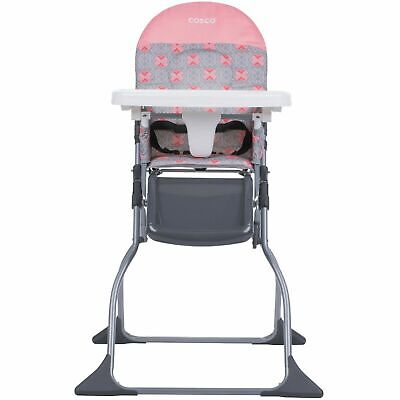 Baby High Chair Full Size Tray Children Feeding Seat Kids Food Eating Adjustable