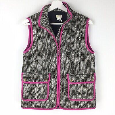 Kids/ Junior J. Crew Crewcuts Size 14 Herringbone Quilted Puffer Zip Vest Tan for sale  Royersford