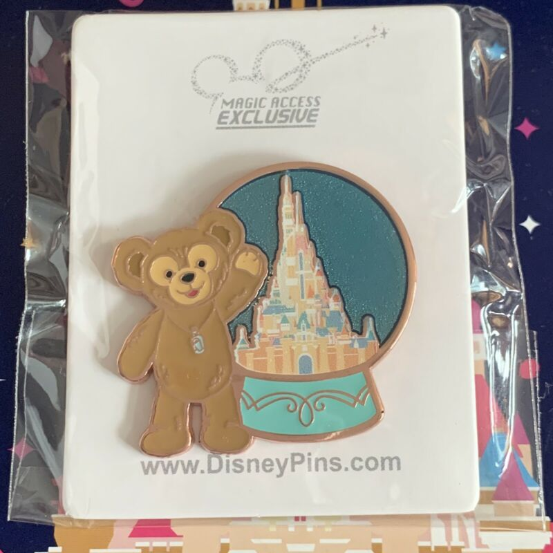 Hong Kong Disneyland HKDL Disney Duffy Pin Magic Access 2021