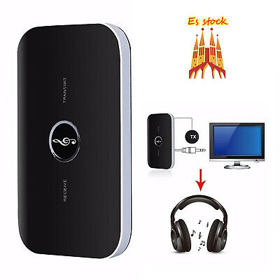 Adaptador de Audio Bluetooth - Transmisor y Receptor Bluetooth 2.1, 2 en 1 3.5mm