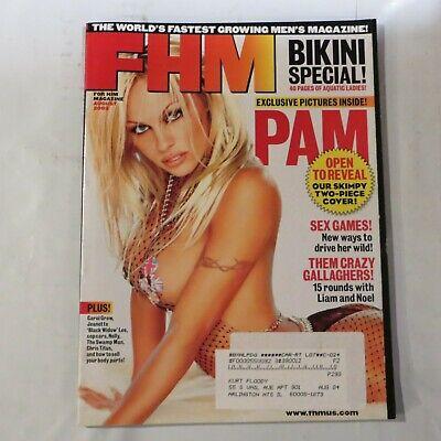 FHM MAGAZINE #24 AUGUST 2002-A Pam Anderson - Bikini Special 5B
