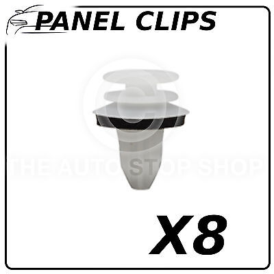 Panel Clip Trim Clips 82 MM Compatible with all Vehicles Pack of 8 Part 12445
