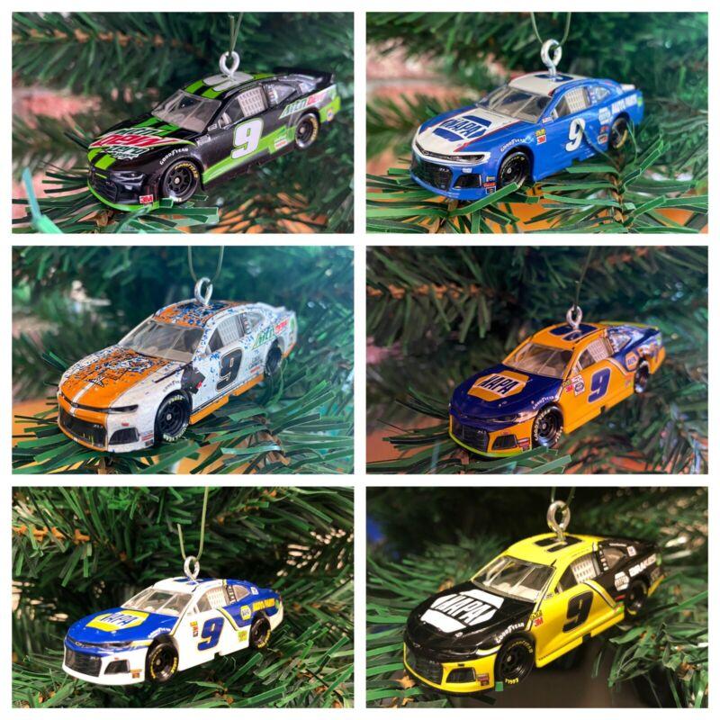 Nascar Chase Elliott #9 Race Car Christmas Ornament!! Choose One!!