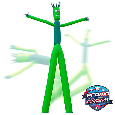 Inflatable 2 Dual Leg Dancer Tube Guy - 26 Tall Green Blowers Not Included