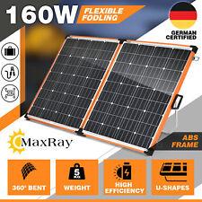 Folding 160W Solar Panel Kit 12v Mono