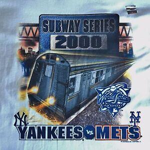 New York Yankees Mets Vintage 2000 Subway Series Mlb