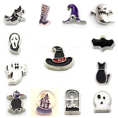 Halloween Floating Charms (Buy 3,Get 2 (See Descrip)! HALLOWEEN Floating Charms for Floating Locket)
