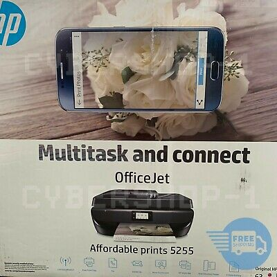 HP OfficeJet 5255 All-in-One Printer with Open Inks (M2U75A) OPEN BOX