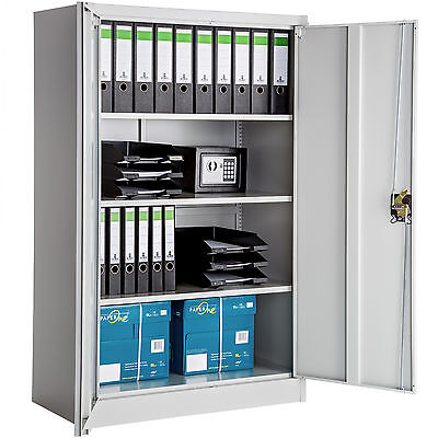 Office storage cupboard metal filing cabinet tool cabinet furniture 140x90x40cm