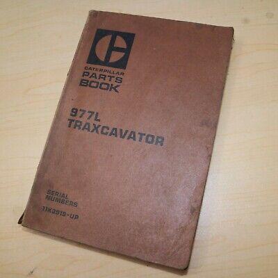 Cat Caterpillar 977l Traxcavator Parts Manual Book Track Loader 11k Series List