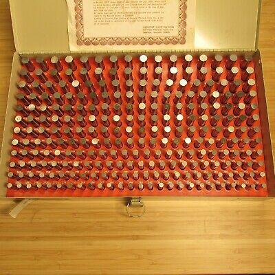 Vermont .251-.500 Gage Pin Set 101100500 Plus C Series Certified Usa