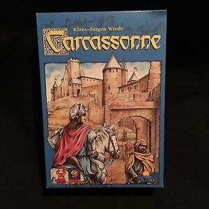 Caracassonne Game- EUC- please check my other ads