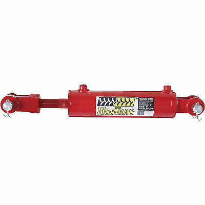 Nortrac Heavy-duty Welded Hydraulic Cylinder - 3000 Psi 2in. Bore 8in. Stroke
