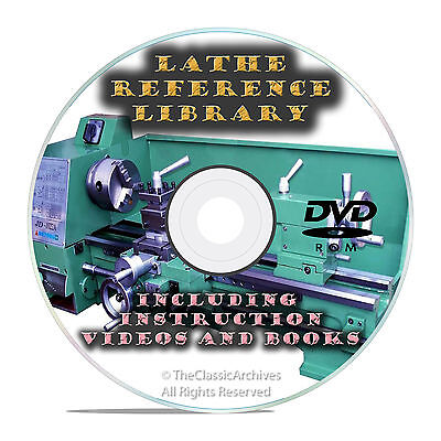 Learn To Run A Lathe-how To Do Metal Turning And Spinning Instructional Dvd V23