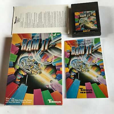 Ram It / Very Rare / Boxed With Instructions Atari 2600 Tested & Working / 7800
