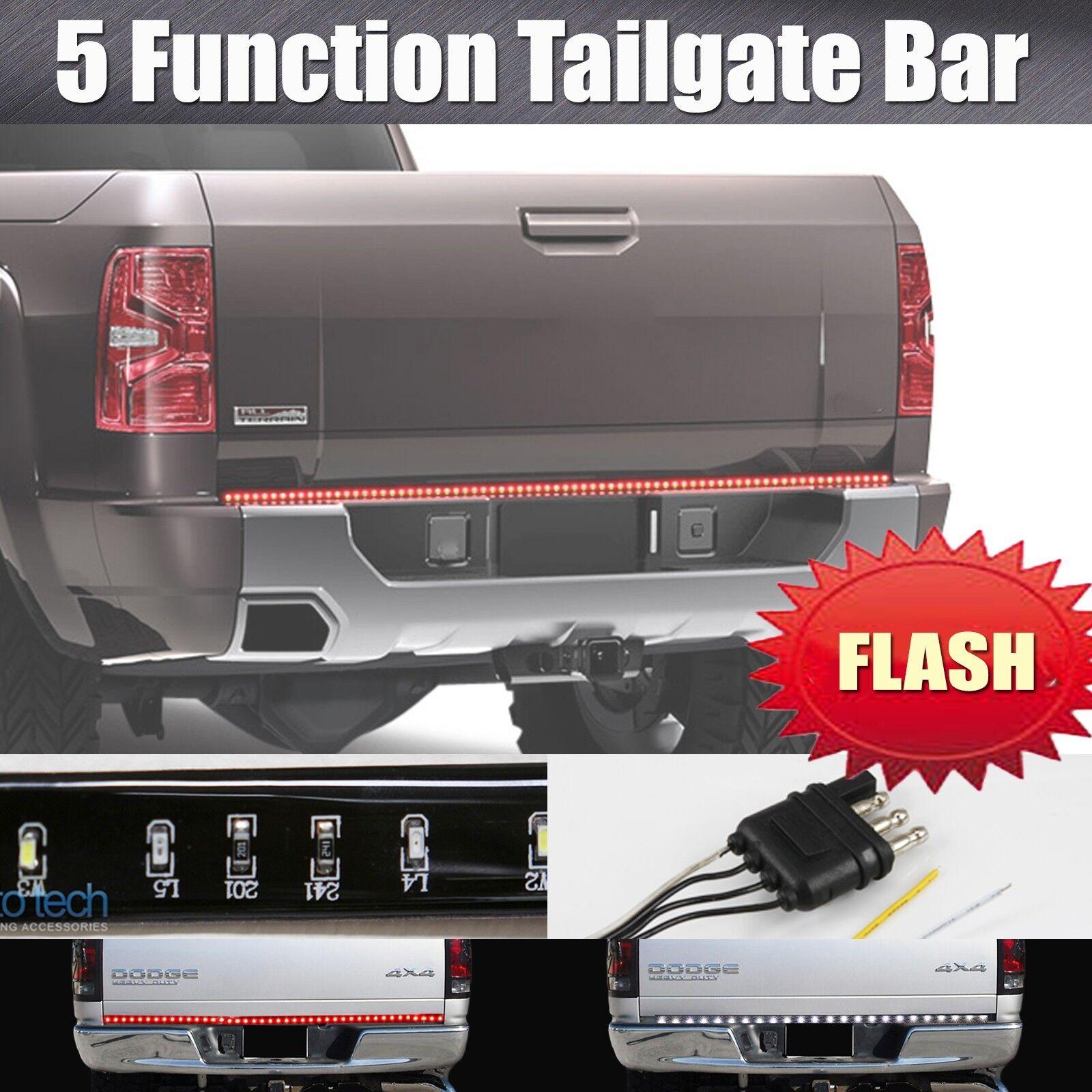 60 U0026quot  Flashing Strobe Blinking Led Strip Tailgate Bar Brake